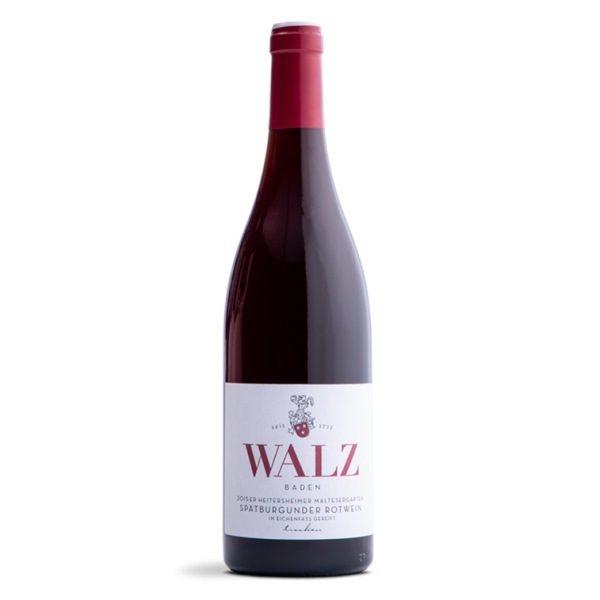 Heitersheimer Maltesergarten Spätburgunder im Holzfass gereift Weingut Walz Heitersheim