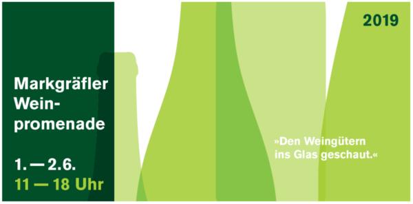 Logo Weinpromenade 2019 der Weingüter im Markgräflerland