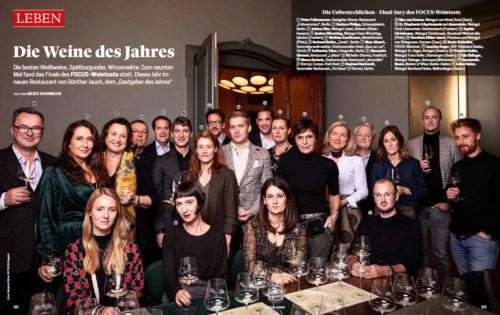 Wein des Jahres - Focus Weintest 2020 - Chardonnay Flaggschiff Weingut Josef Walz