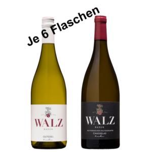 Gutdedel kollektion Weingut Josef Walz - Heitersheim - Markgräflerland