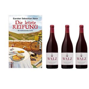 3 x Wein und Krimi die letzte Reifung Weingut Josef Walz Heitersheim im Markgräflerland