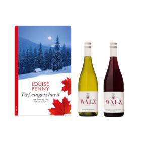 Tief eingeschneit - Wein und Krimi - Weingut Josef Walz - Heitersheim - Markgräflerland
