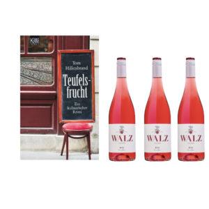 Bild Krimi Teufelsfrucht und 3 Flaschen Rose von Weingut Josef Walz - Heitersheim - Markgräflerland