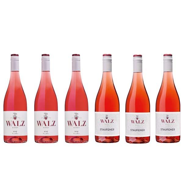 Rosé trocken & Staufener Rosé trocken vom Weingut Josef Walz in Heitersheim